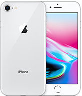 Apple iPhone 8 Silver, IMEI network carrier check report