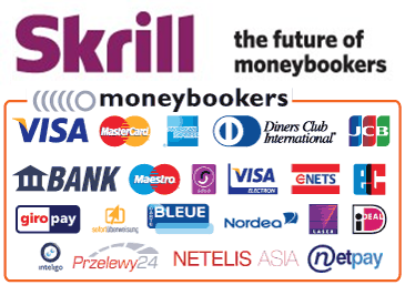 Pay via Skrill